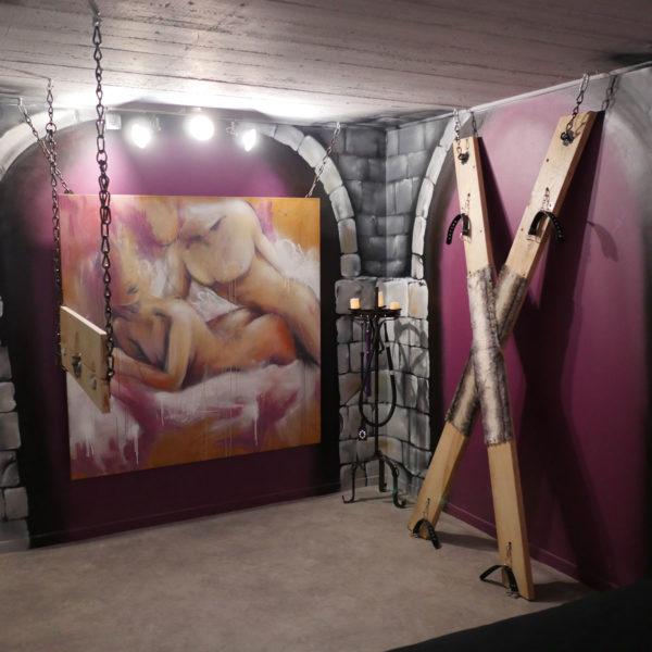 Nuit insolite et coquine - chambre Marquis de Sade
